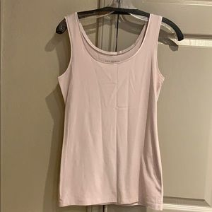 Ann Taylor Tank with satin trim